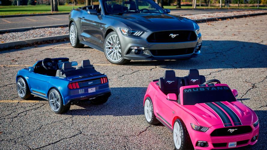 Cette Ford Mustang pour enfants veut faire parler la poudre