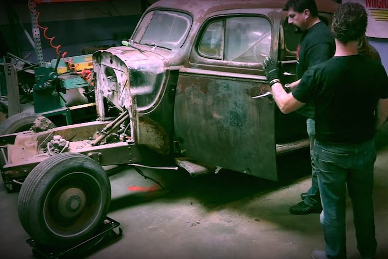 Watch This 1940 Packard Get Its Heart Ripped Out