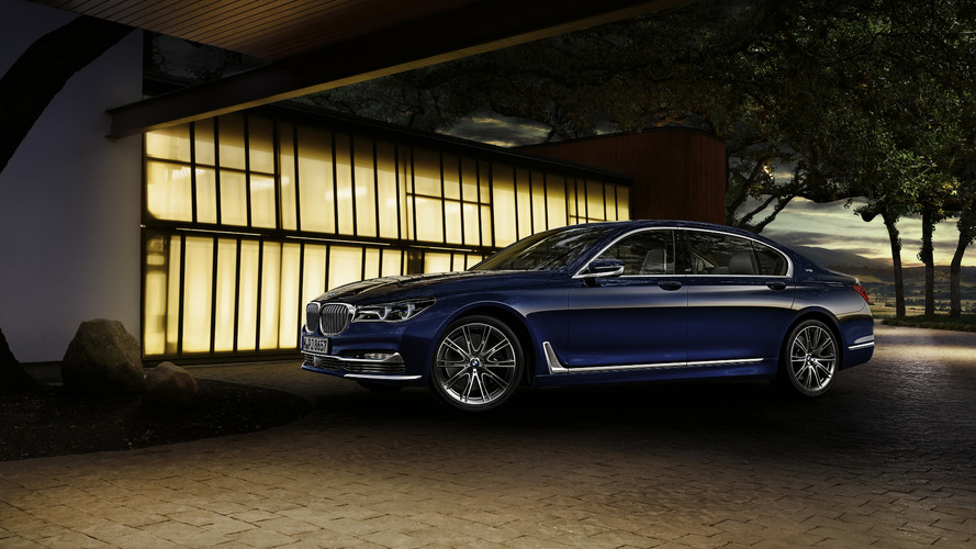 BMW 7 Series centennial models come with a sweet pen