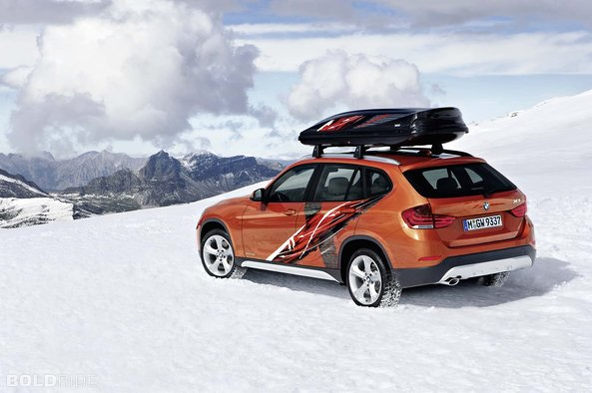 BMW X1 Powder Ride Edition is Product Synergy at its Very Worst