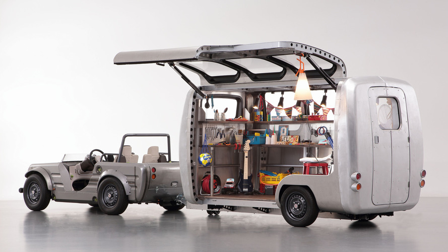 Toyota Camatte Capsule is a customizable trailer for kids