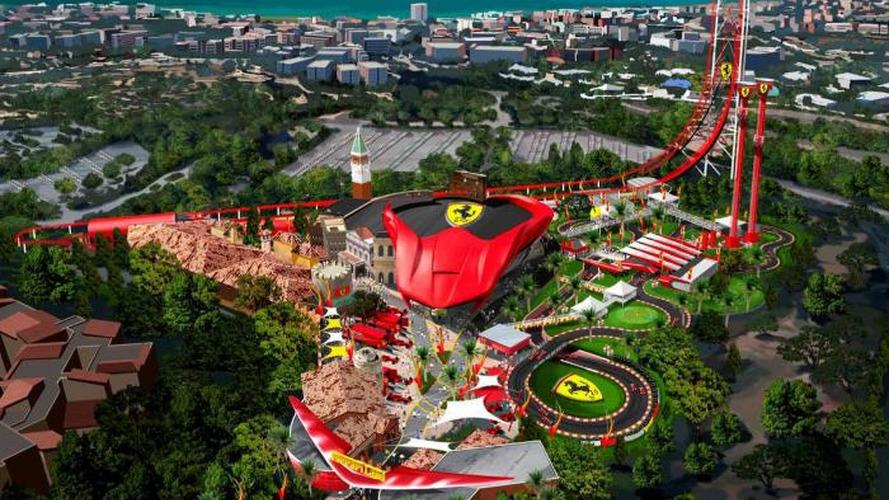 Construction begins on Ferrari Land