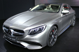 Mercedes S63 AMG Coupe Shows Off Supermodel Good Looks in New York