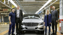 2014 Mercedes S-Class production at Sindelfingen 13.6.2013