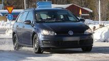 2014 Volkswagen Golf Estate spy photo 27.2.2013