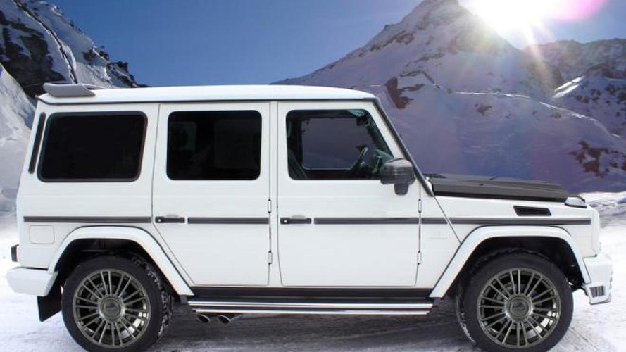 Mansory tunes the Mercedes G-Class