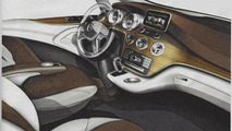 2014 Mercedes-Benz Viano design sketch (not confirmed) 01.08.2013