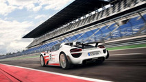 Porsche 918 Spyder production model with Weissach package