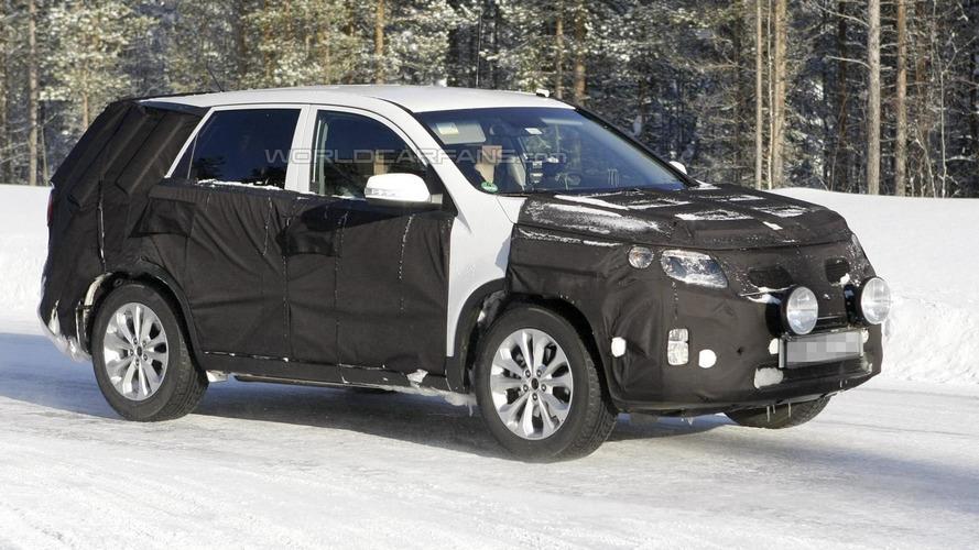 2013 Kia Sorento Facelift spied