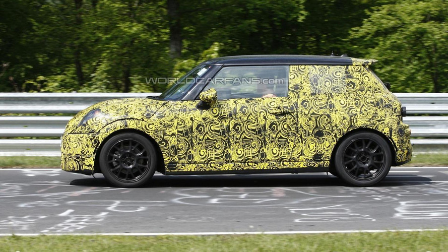 MINI Cooper S caught testing at Nurburgring