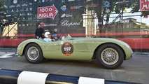 Stirling Moss and Norman Dewis at the 2012 Mille Miglia 18.5.2012