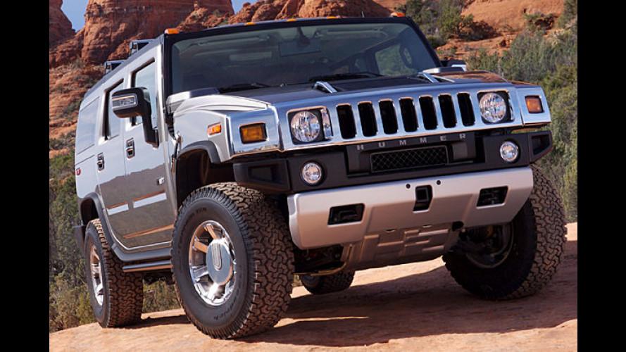 Hummer H2: Mit mehr Power ins neue Modelljahr