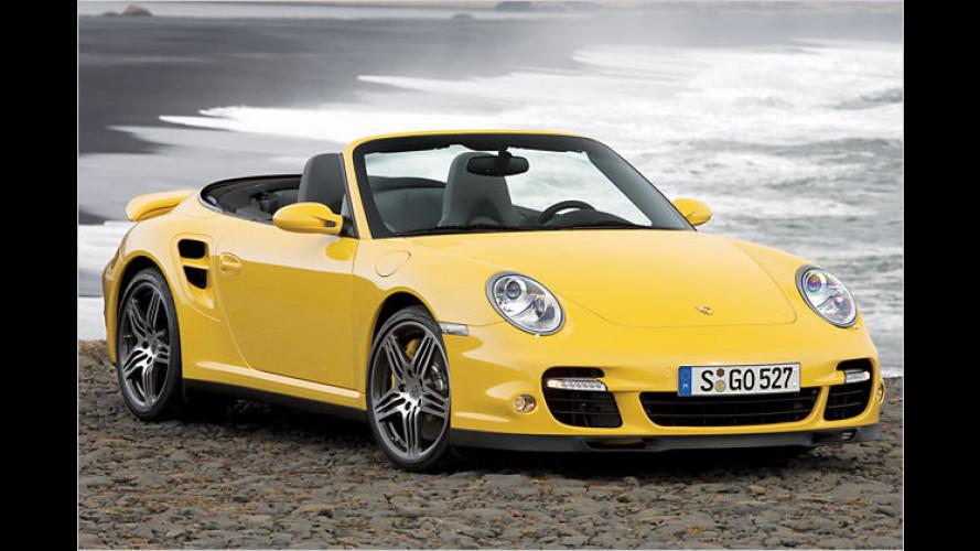Porsche bringt sechste Generation des 911 Turbo Cabriolet