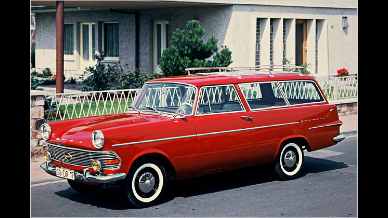 Opel Rekord P2 Caravan (1960)