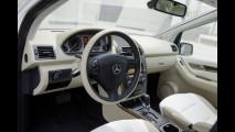 Mercedes Classe A E-CELL con ricarica induttiva