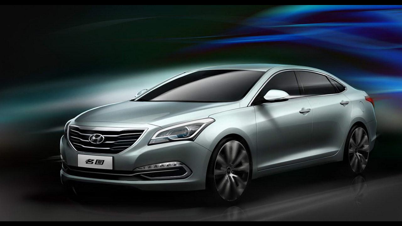 Hyundai Mistra Concept al Salone di Shanghai