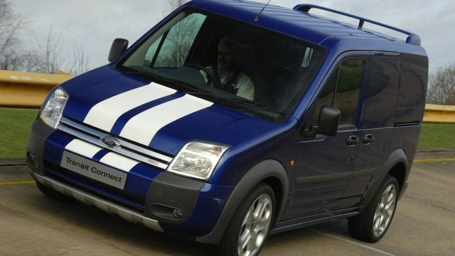 Ford Transit Connect SportVan Revealed at CV Show (UK)