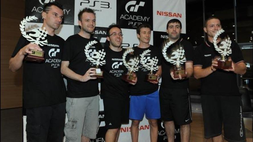 Nissan GT Academy 2012: ecco i sei finalisti italiani