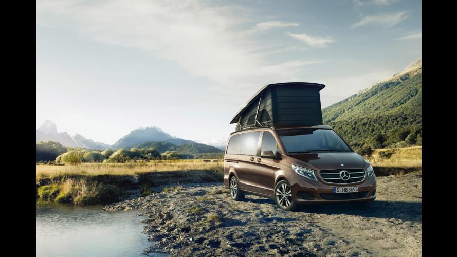Mercedes Marco Polo, lusso all'aria aperta