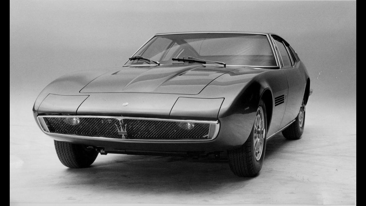 Maserati Ghibli, foto storiche