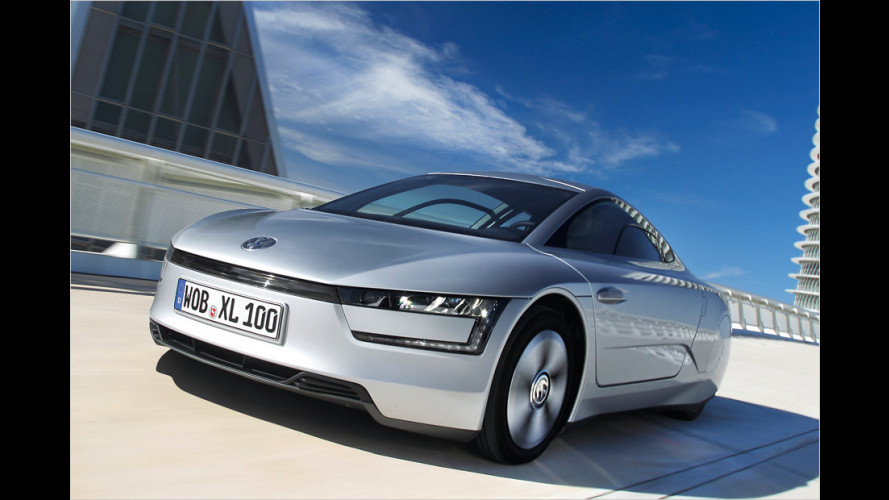 VW XL1 mit Diesel-Plug-in-Hybrid-Technik