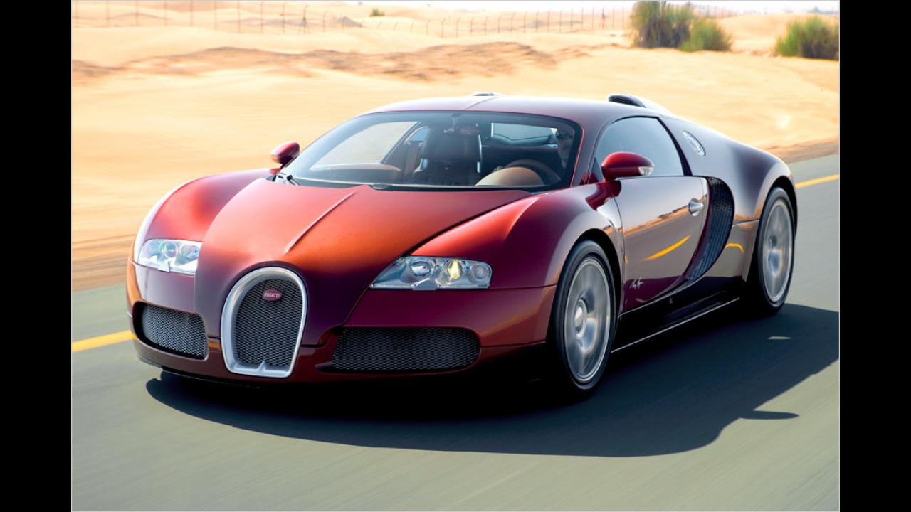 1. Platz: Bugatti Veyron