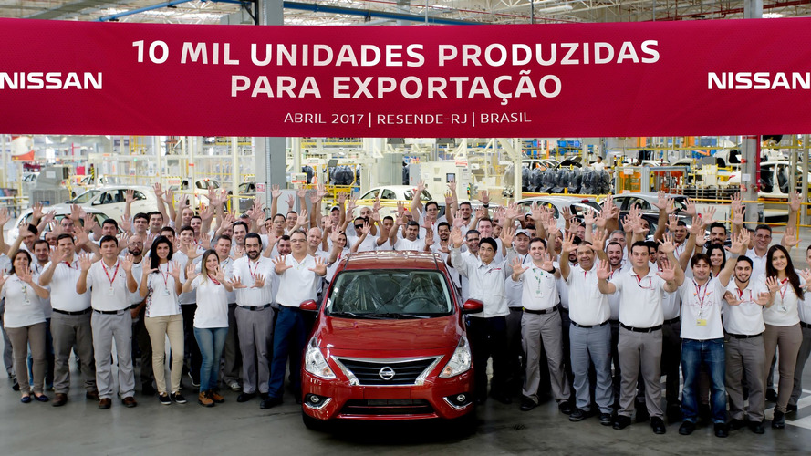 Fábrica da Nissan em Resende (RJ) atinge a marca de 10 mil veículos exportados