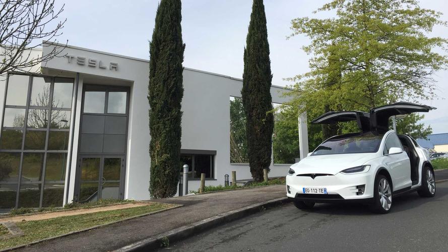 Deux nouvelles concessions Tesla en France