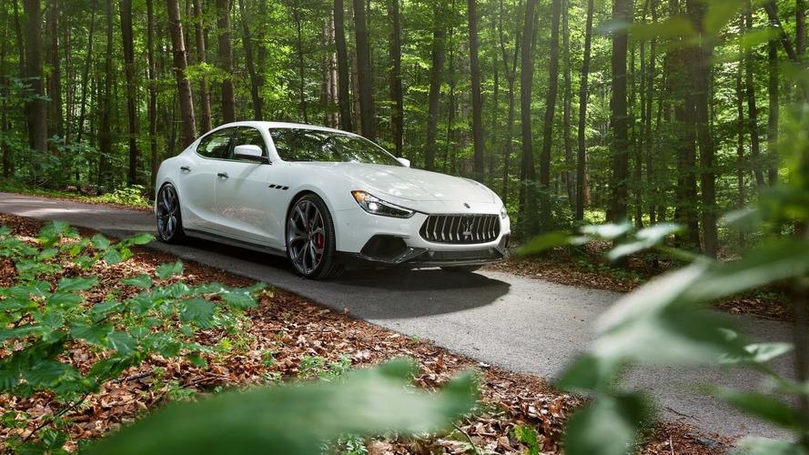 Maserati Ghibli Upgraded By Novitec To 494 Horsepower