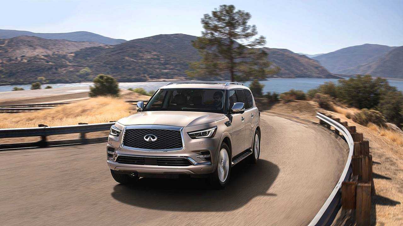 6. Full-Size Luxury SUV/Crossover: Infiniti QX80