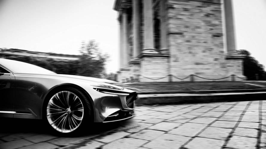 Mazda Vision Coupé in mostra a Milano