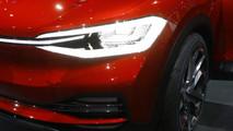 VW I.D. Crozz II Concept live in Frankfurt