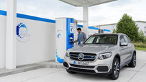 Mercedes GLC F-Cell 2018, imágenes oficiales