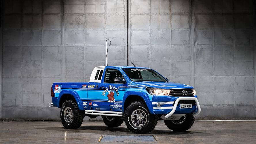 Toyota brings new Hilux out to play