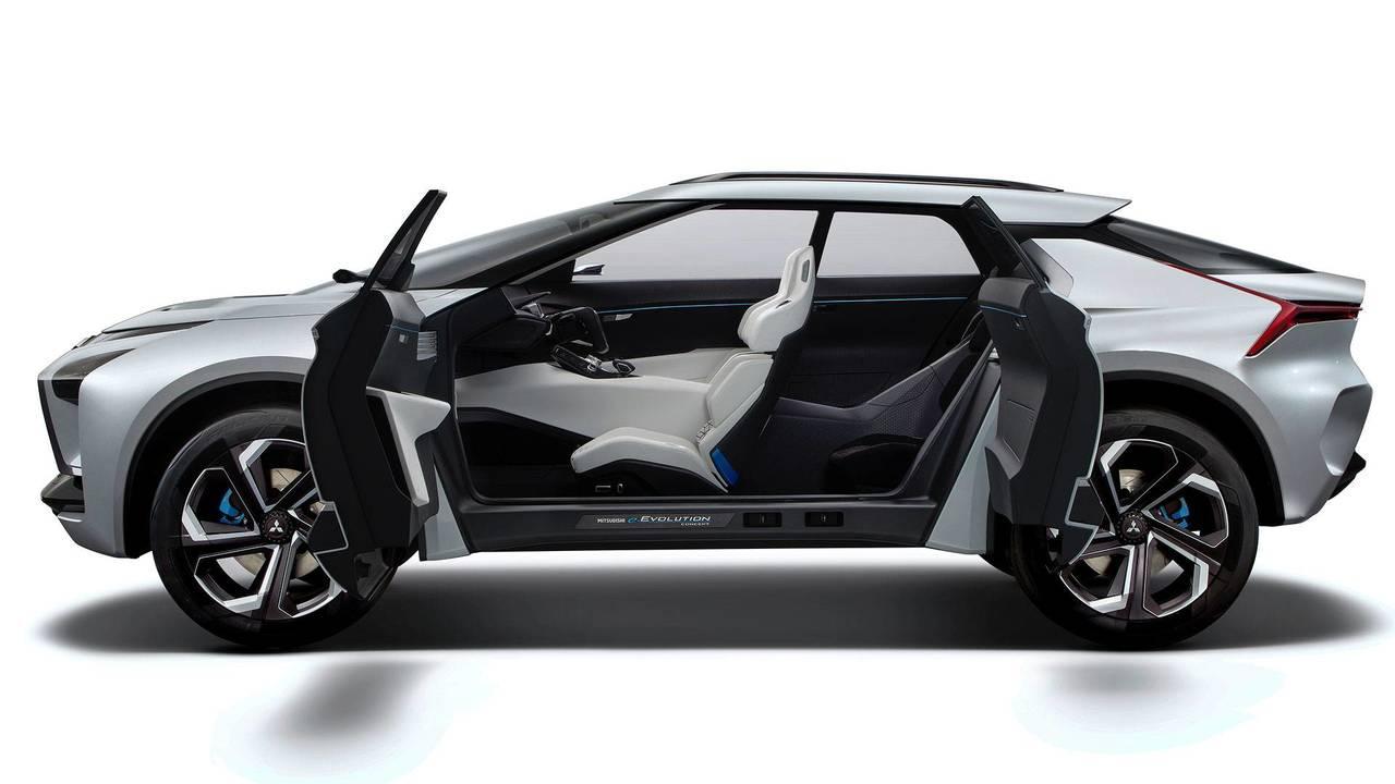 Mitsubishi e-Evolution konsepti - Kapılar