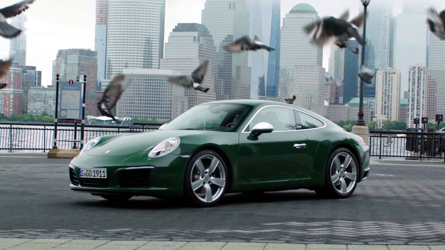 One millionth Porsche 911 in New York