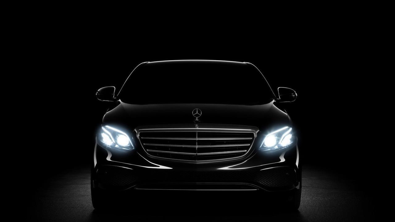 2016 Mercedes E Class teaser