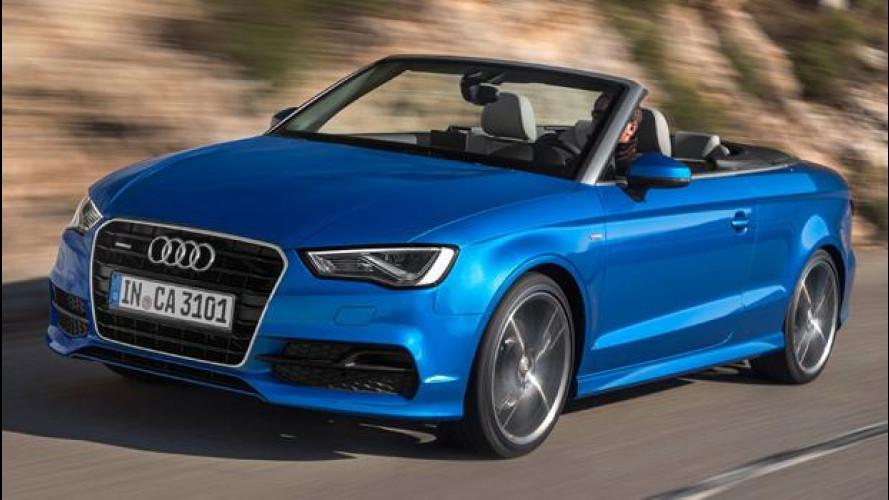 Nuova Audi A3 Cabriolet quattro