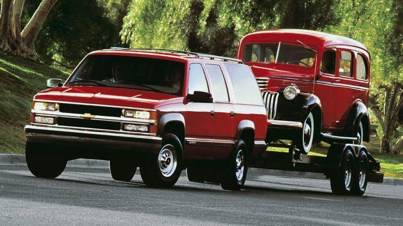 2000 and 1936 Chevrolet Suburban