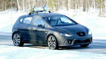 Seat Leon Cupra spy photos