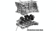 1.8-liter Engine Cylinder Block, Crankshaft
