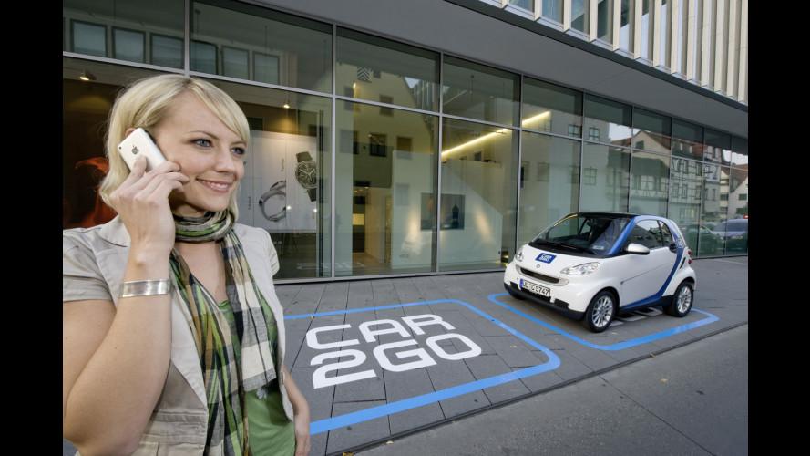smart car2go si allea con myTaxi