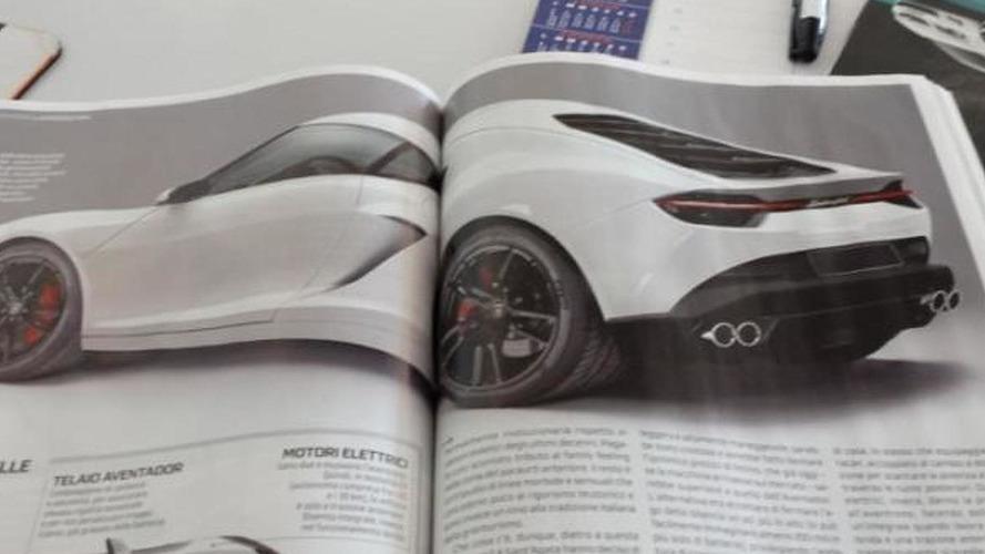 Lamborghini Asterion returns via magazine scans, could have 900 HP hybrid setup