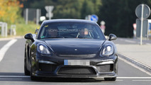 2016 Porsche Cayman GT4 spy photo