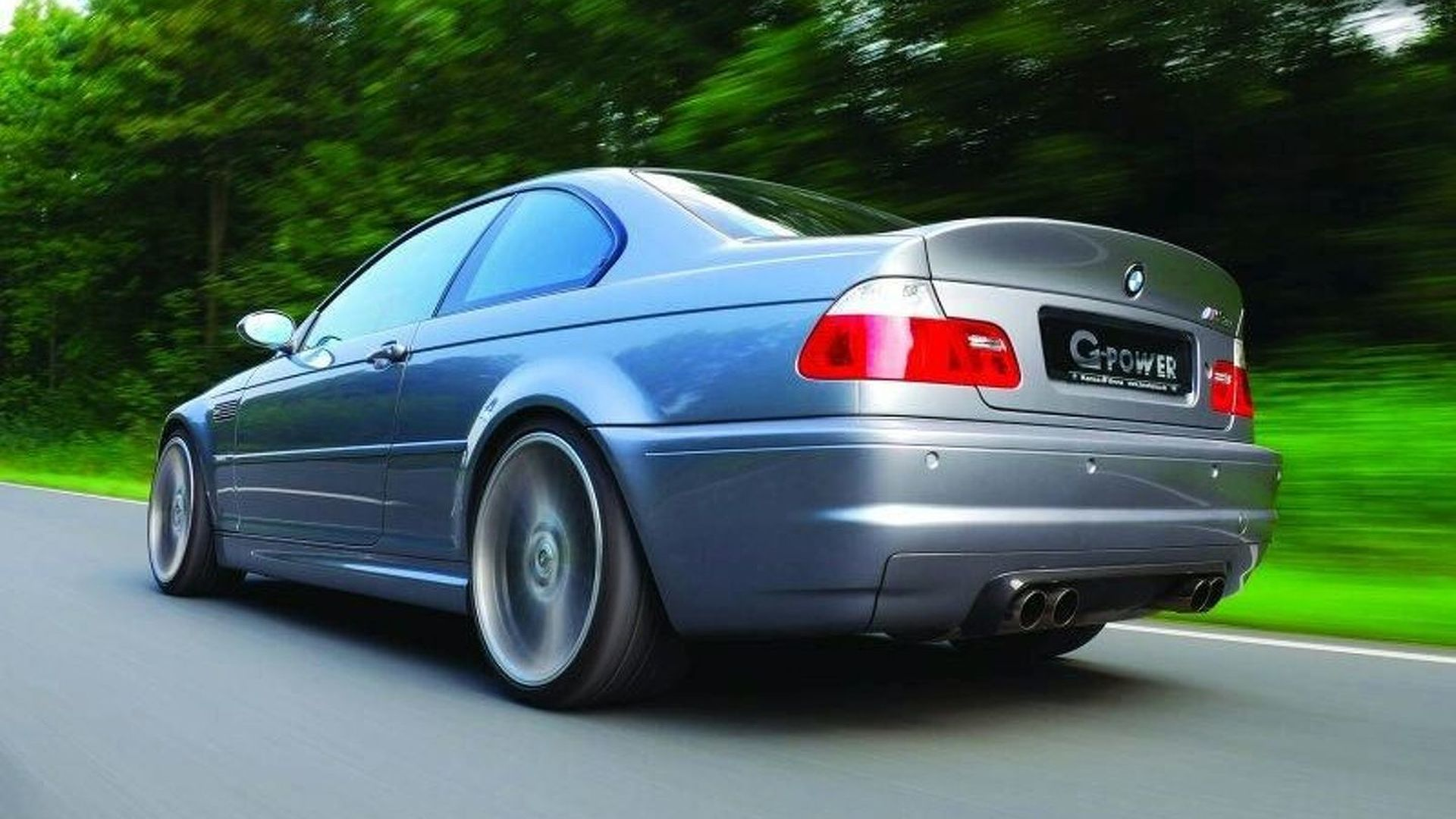 G-POWER BMW M3 CSL E46 with 550 hp V10