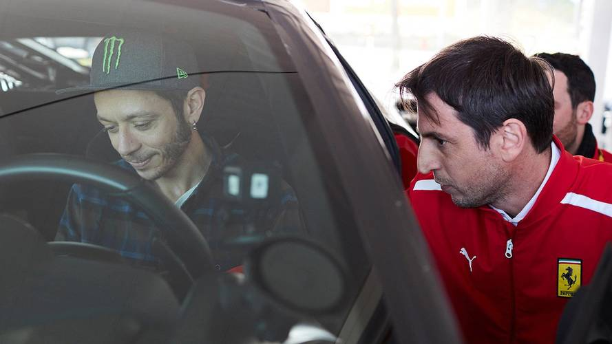 Valentino Rossi Turns Ferrari Test Driver With New 488 Pista