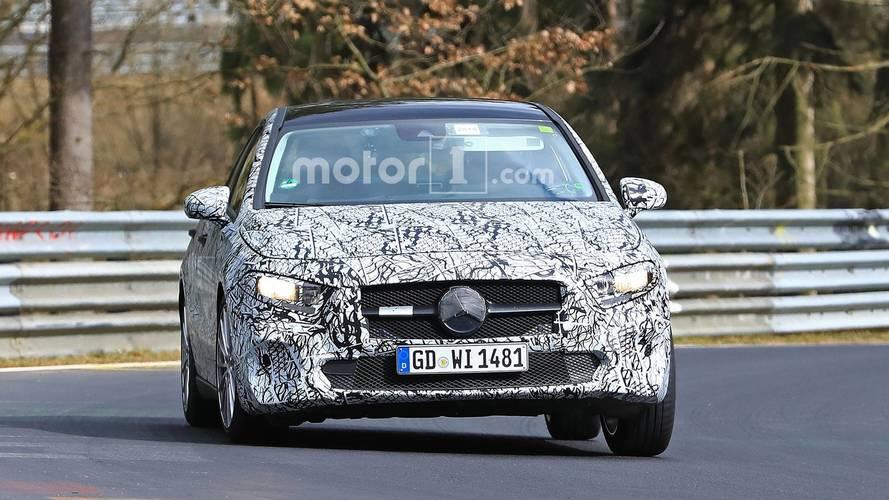 Mercedes-Benz A-Class Sedan Spy Photos