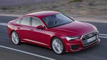 2018 Audi A6 leaked official image (not confirmed)