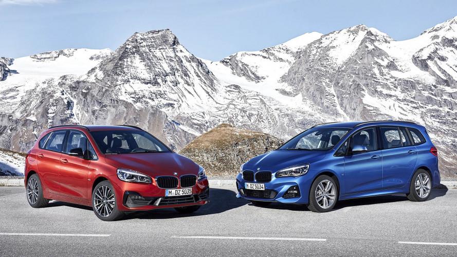 Los monovolúmenes de BMW reciben un restyling de cara a 2018