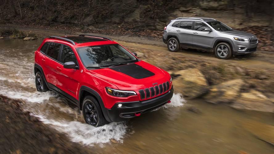 Képeken az új Jeep Cherokee